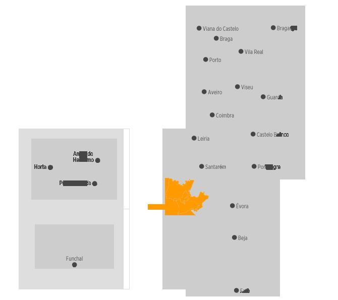 mapa portugal lisboa Destinos | .visitportugal.com mapa portugal lisboa