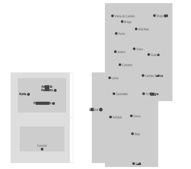 mapa portugal e ilhas Destinos | .visitportugal.com mapa portugal e ilhas