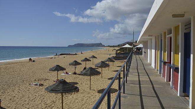 Praia de Porto Santo Plaats: Porto Santo Foto: Francisco Correia