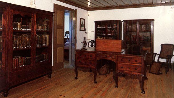 Casa de Camilo - Museu - Escritório Lieu: São Miguel de Seide / V. N. Famalicão