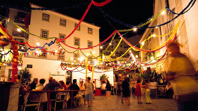 Festas dos Santos Populares Plaats: Lisboa