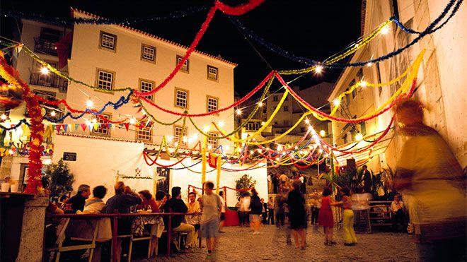 Festas dos Santos Populares Lieu: Lisboa