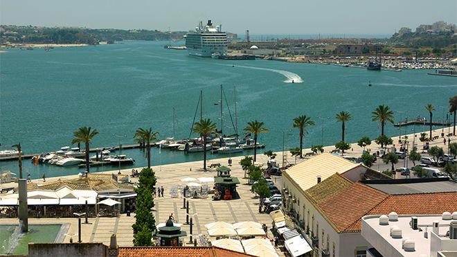 Porto de Portimão Lugar Portimão Foto: IPTM - Delegação do Sul