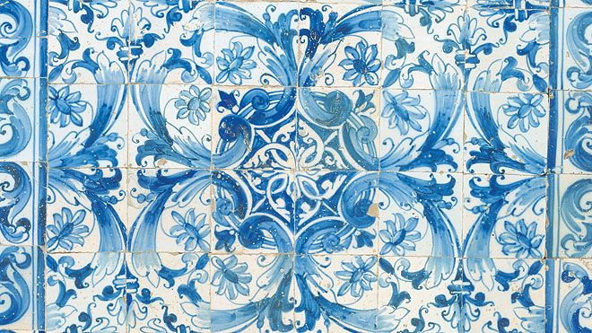 Tile panel Plaats: Palácio Pereira Forjaz Foto: António Sacchetti