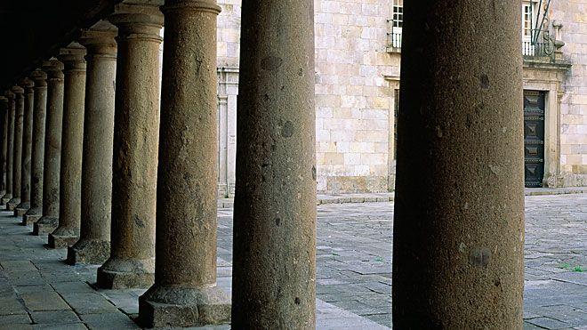Colunata do Paço Local: Braga Foto: Turismo Porto e Norte