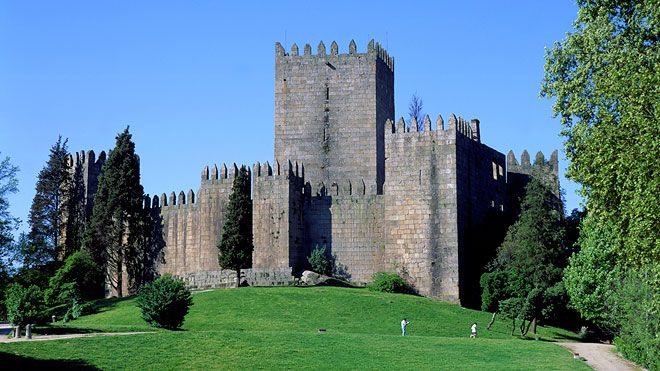 Castelo de Guimarães Ort: Guimarães Foto: João Paulo
