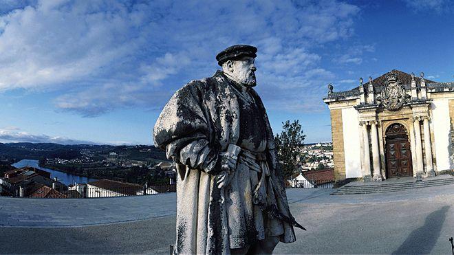 Coimbra -  Biblioteca Joanina Ort: Coimbra Foto: Turismo Centro de Portugal