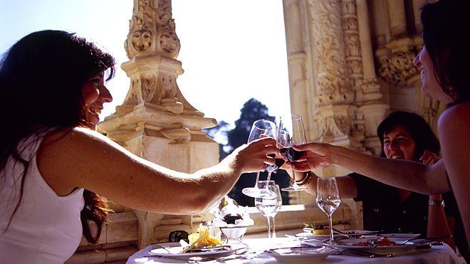 Palace Hotel Local: Buçaco Foto: Turismo Centro de Portugal