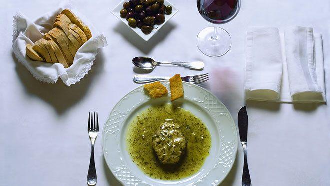 Prato de cação Local: Cozinha alentejana Foto: Turismo do Alentejo