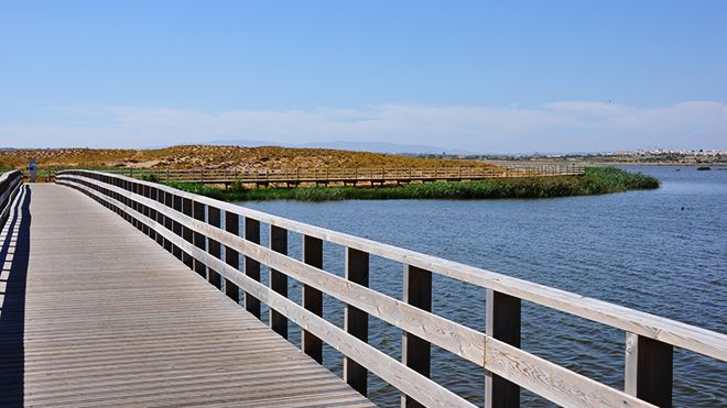 Lagoa dos Salgados Local: Albufeira Foto: Turismo do Algarve