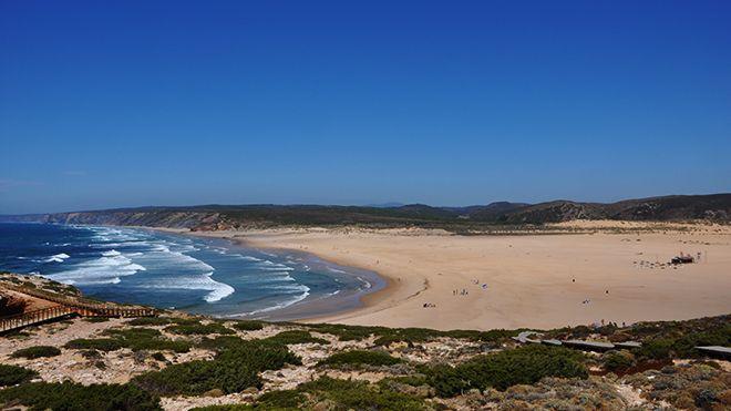 Praia Bordeira Ort: Aljezur Foto: Turismo do Algarve