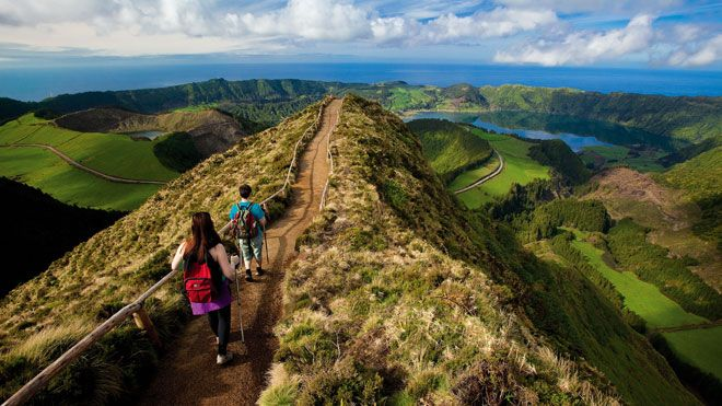 c2e43ef6ebd Sete Cidades Local  Ilha de São Miguel nos Açores Foto  Veraçor