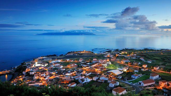 Vila do Corvo Ort: Ilha do Corvo nos Açores Foto: DRT, Maurício Abreu