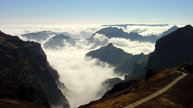 Ilha da Madeira Lieu: Pico do Areeiro Photo: Turismo da Madeira