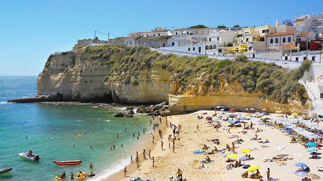 Praia do Carvoeiro&#10照片: Helio Ramos - Turismo do Algarve
