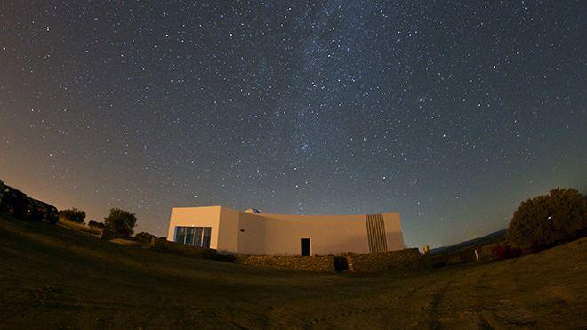 Observatório Lago Alqueva Local: Monsaraz Foto: OLA