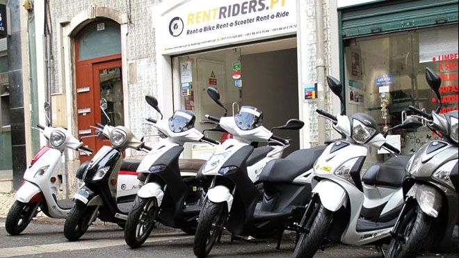 RentRiders Place: Lisboa Photo: RentRiders