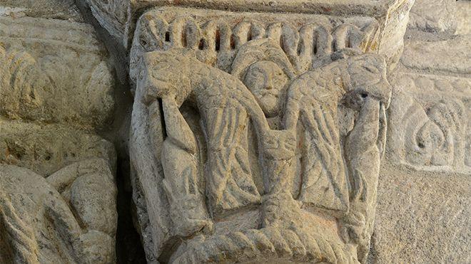 Rota do Românico - Igreja de São Martinho de Mouros&#10Lieu: Resende&#10Photo: Rota do Românico