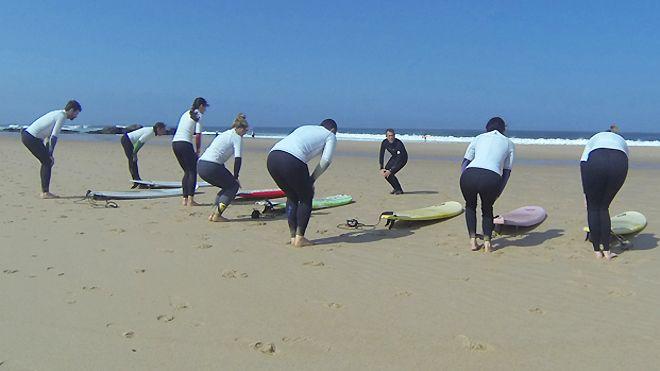 Solfun surf school Luogo: Colares - Sintra Photo: Solfun surf school