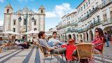 Praça do Giraldo Ort: Évora Foto: Turismo do Alentejo