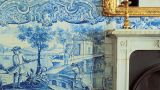 Tile panel&#10Place: Palácio da Mitra&#10Photo: António Sacchetti