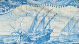 Tile panel&#10Place: Paço de Arcos&#10Photo: José Manuel