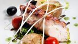 Polvo à lagareiro&#10Local: Norte de Portugal&#10Foto: Restaurante DOP