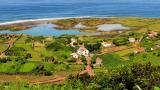 Fajã dos Cubres Lugar: Ilha de São Jorge nos Açores Foto: Maurício Abreu