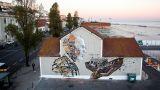 Vhils / Pixel Pancho Ort: Lisboa Foto: Alexander Silva