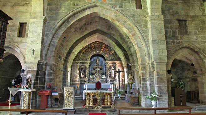 Igreja de Fiães&#10Local: Melgaço&#10Foto: CM Melgaço