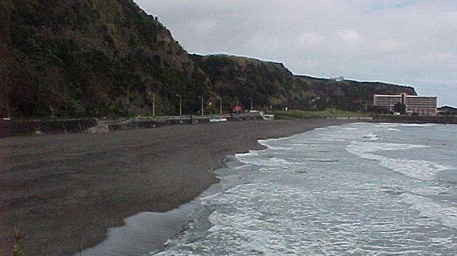 Praia de Água de Alto&#10Lugar Vila Franca do Campo - São Miguel&#10Foto: ABAE