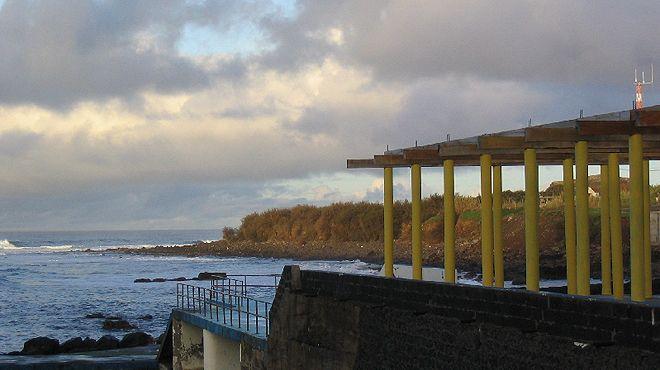 Zona Balnear dos Anjos Plaats: Santa Maria - Açores Foto: ABAE