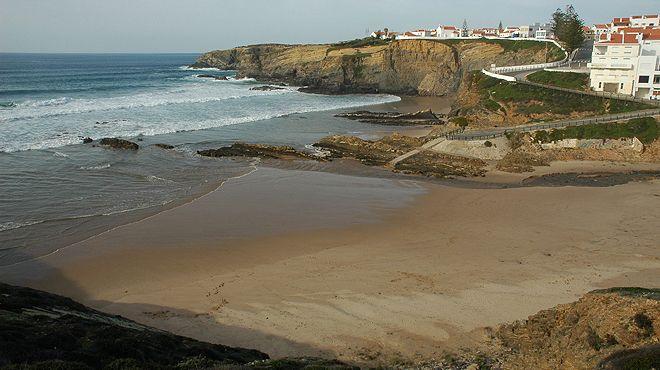 Praia da Zambujeira do Mar&#10Plaats: Odemira&#10Foto: ABAE