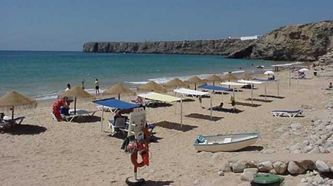 Praia da Mareta Local: Sagres - Vila do Bispo Foto: ABAE