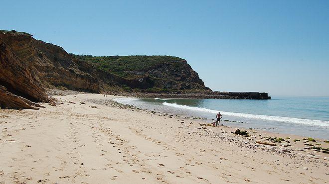 Praia de Almádena - Cabanas Velhas Place: Vila do Bispo Photo: ABAE