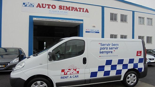 Auto Simpatia Rent a Car&#10Local: Caldas da Rainha&#10Foto: Auto Simpatia Rent a Car