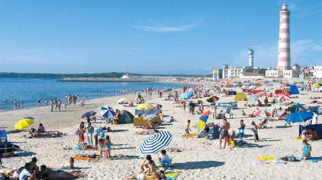 Praia da Barra&#10Lugar Ílhavo&#10Foto: ABAE