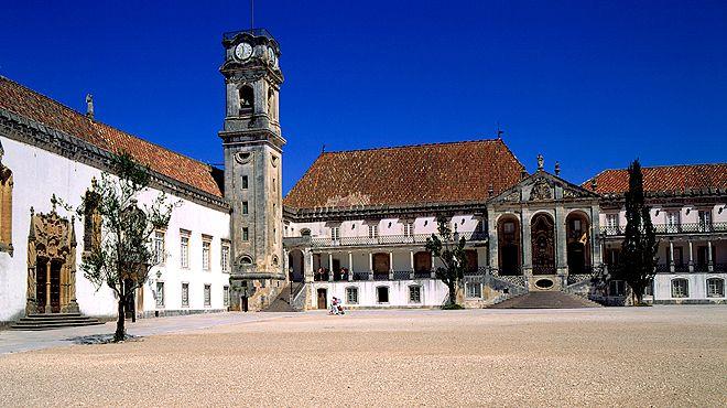 Universidade de Coimbra Ort: Coimbra Foto: Arquivo TdP