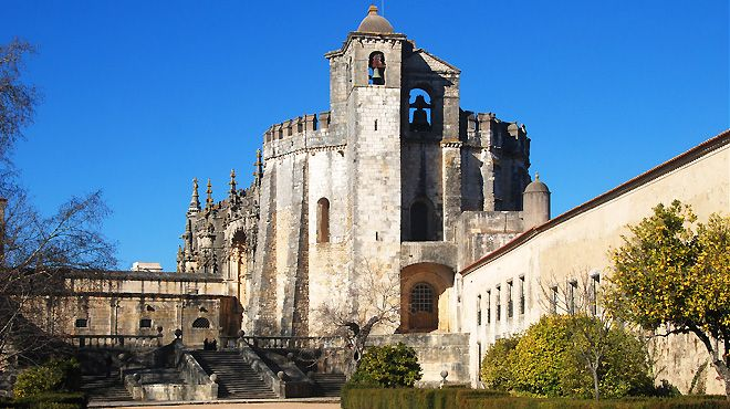 Convento-de-Cristo Local: Tomar Foto: Taxitemplarios
