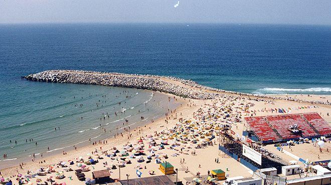 Praia da Baía&#10Local: Espinho&#10Foto: ABAE