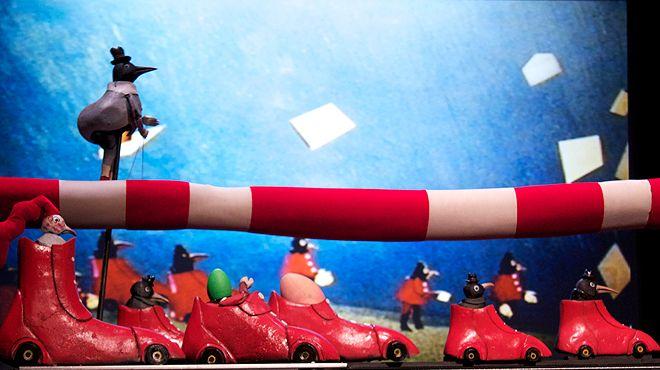 A cauda do Senhor Kat - FIMP-Festival Internacional de Marionetas do Porto Local: Porto Foto: Faustine Beuve