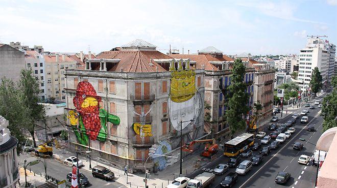 Os Gêmeos Place: Lisboa Photo: Leonor Viegas