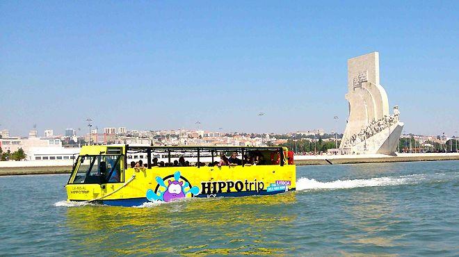 HIPPOTRIP Local: Lisboa Foto: HIPPOTRIP - Turismo Anfíbio,Lda.