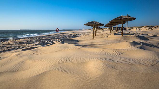 Praia da Costa Nova Место: Ílhavo Фотография: Shutterstock_CN_Lukasz Janyst