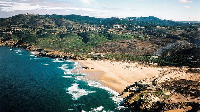 Praia Grande do Guincho&#10地方: Guincho - Cascais&#10照片: JTCE