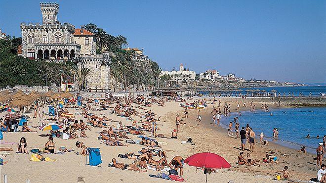 Praia do Tamariz&#10地方: Estoril - Cascais&#10照片: JTCE