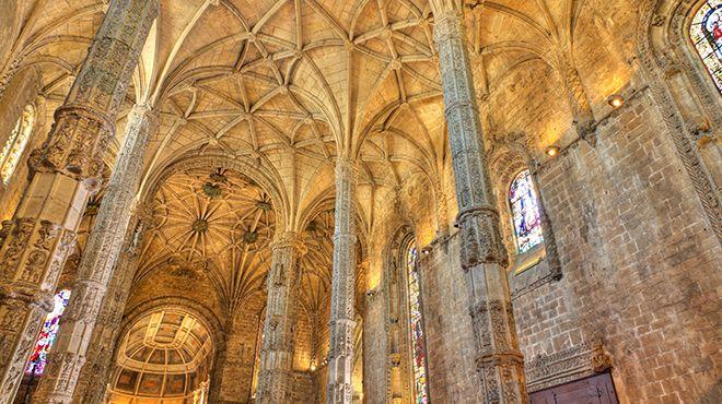 Mosteiro dos Jerónimos&#10Plaats: Lisboa&#10Foto: Shutterstock / Martin Lehmann