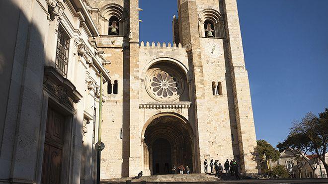 Sé Catedral de Lisboa Place: Lisboa Photo: João Henriques / Amatar