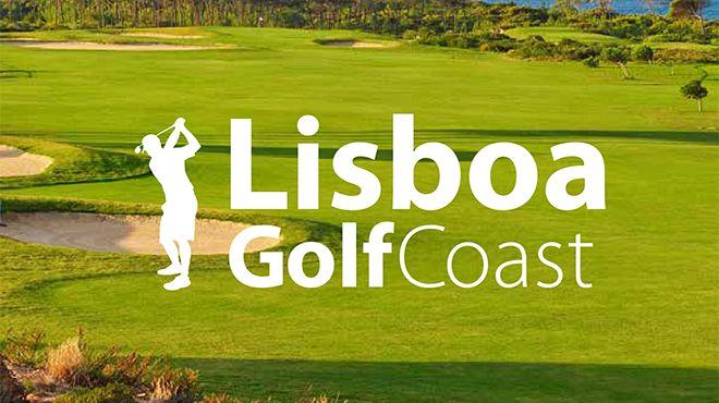 Brochura de Golfe na região Lisboa&#10Ort: Lisboa