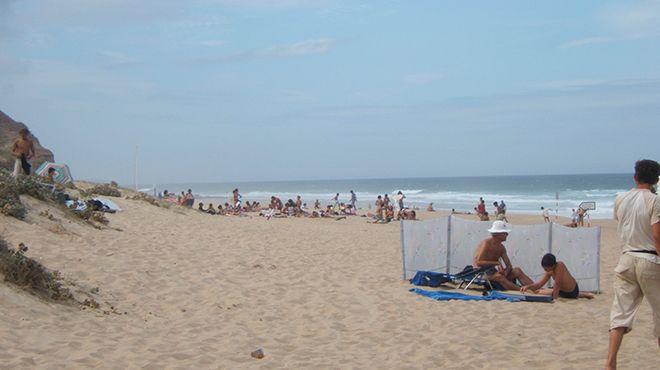 Praia do Areal Sul&#10Local: Lourinhã&#10Foto: CM Lourinhã